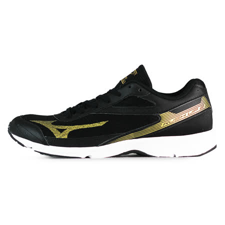 Mizuno 男 路跑鞋 RUSH UP 2 美津濃 慢跑鞋 黑 J1GA168350