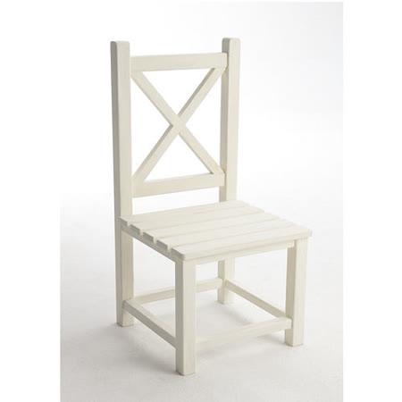 [自然行] 兒童艾莉絲椅 (Almond White / 杏仁白)