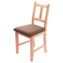 [自然行]-Avigons南法原木椅(溫暖柚木色)深咖啡椅墊