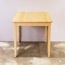 [自然行]-實木桌74x74cm (扁柏自然色)