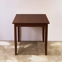 [自然行]-實木桌74x74cm (焦糖色)