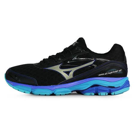 Mizuno 男 WAVE 慢跑鞋WAVE INSPIRE 12 SW 美津濃 慢跑鞋 黑 J1GC164552