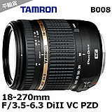 Tamron 18-270mm F/3.5-6.3 DiII VC PZD B008 -送拭鏡筆+抗UV鏡62mm