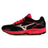Mizuno 女 Wave 慢跑鞋WAVE IMPETUS 4 (W) 美津濃 慢跑鞋 紅 J1GD161303