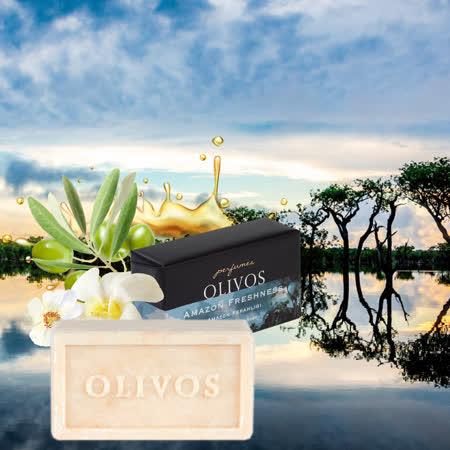 【Olivos 奧莉芙的橄欖】清新亞馬遜橄欖皂250g