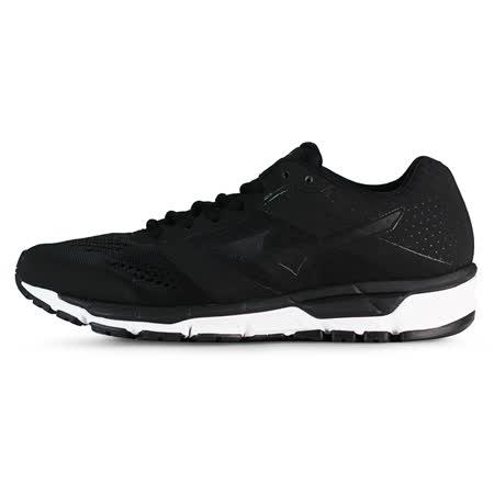 Mizuno 男 慢跑鞋 MIZUNO SYNCHRO MX 美津濃 慢跑鞋 黑 J1GE161912