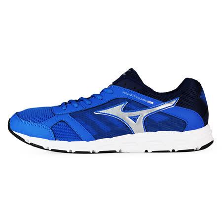 Mizuno 男 慢跑鞋 MIZUNO SYNCHRO SL 美津濃 慢跑鞋 藍 J1GE162803