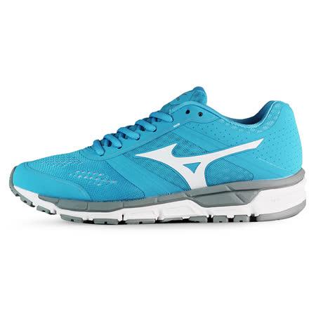 Mizuno 女 慢跑鞋 MIZUNO SYNCHRO MX (W) 美津濃 慢跑鞋 淺藍 J1GF161901