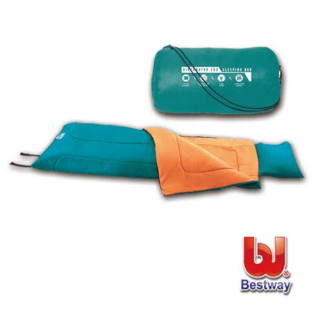 購犀利-Bestway   冬眠200露營睡袋附枕