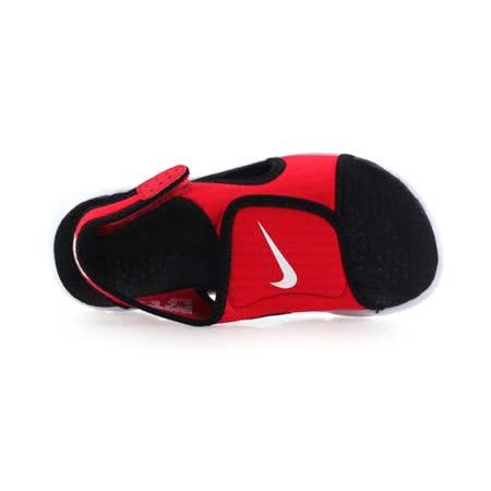 (童) NIKE SUNRAY ADJUST 4-GS/PS男女兒涼鞋- 鞋 紅黑