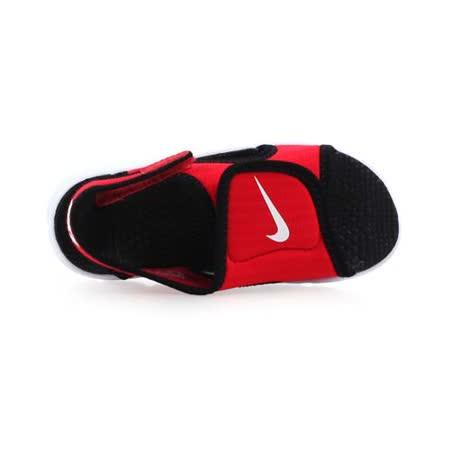 (童) NIKE SUNRAY ADJUST 4-TD男女嬰孩涼鞋- 鞋 紅黑