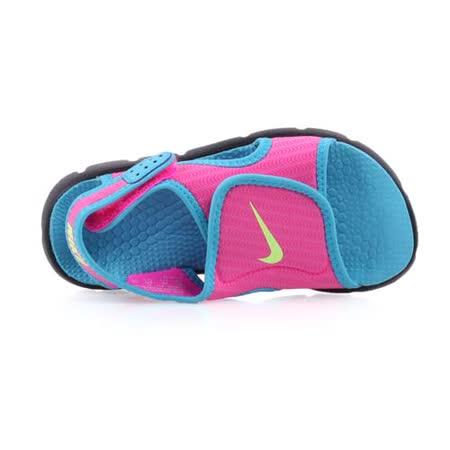 (童) NIKE SUNRAY ADJUST 4-GS/PS女涼鞋-鞋 兒 粉水藍
