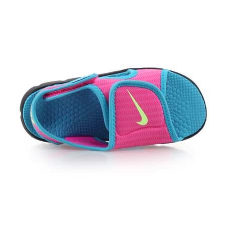 (童) NIKE SUNRAY ADJUST 4 -TD女嬰孩涼鞋- 鞋 兒 粉水藍