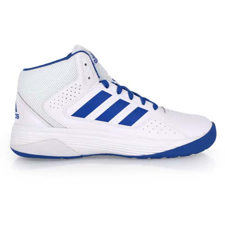 (男) ADIDAS CLOUDFOAM ILATION MID 籃球鞋- 高筒 白藍