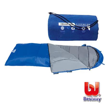 購犀利-Bestway   包覆300露營睡袋
