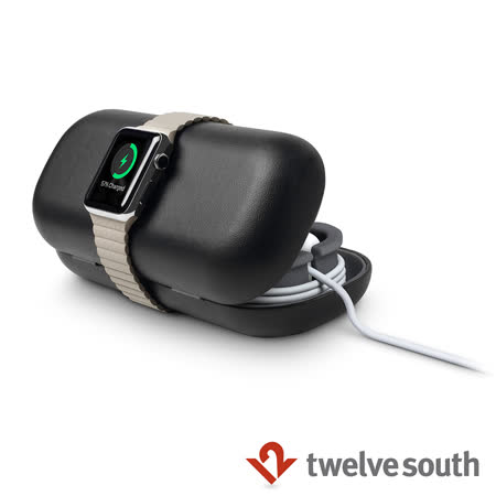 Twelve South TimePorter Apple Watch 專用旅行真皮收納盒 (黑色)