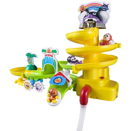 《麵包超人》ANP滑水道洗澡玩具