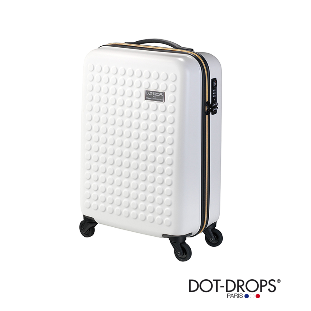 DOT-DROPS 20 吋 Chapter 3 點點硬殼行李箱阪急 百貨 台北 - 金屬白