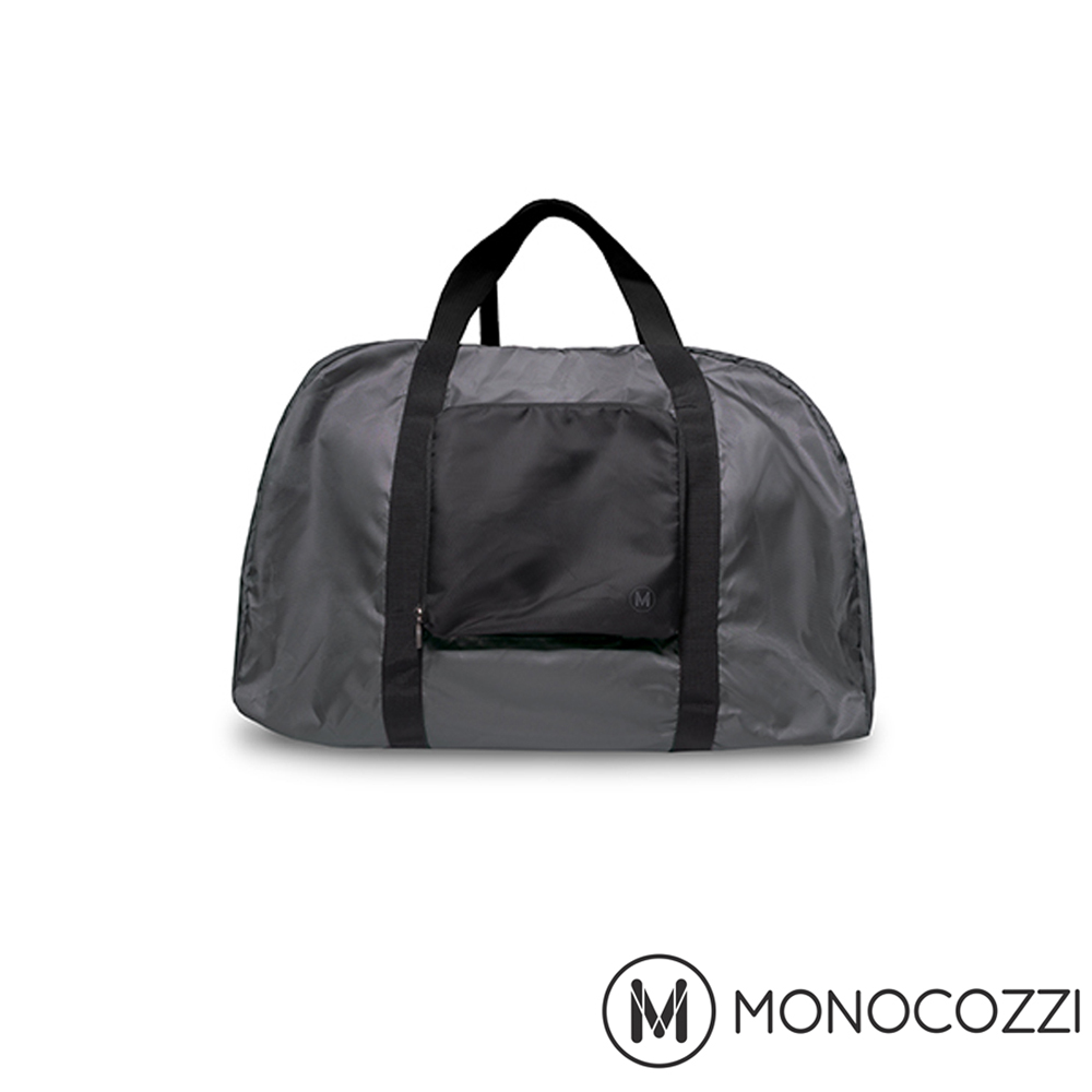 MONOCOZ台中 市 遠 百ZI Lush Foldable Duffle Bag 魔術折疊購物手提肩背包 (深灰)
