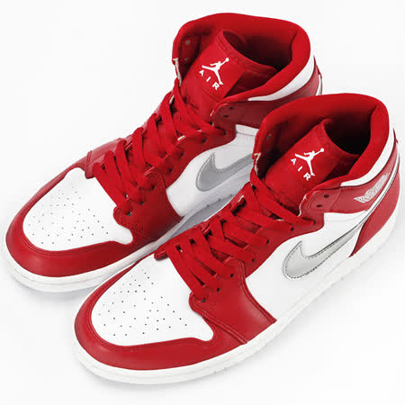 NIKE  男  AIR JORDAN 1 RETRO HIGH    籃球鞋  紅/白  332550602