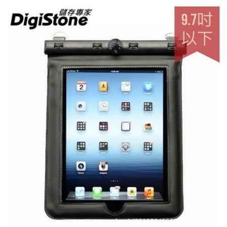 DigiStone iPad 9.7吋平板電腦防水袋/保護套/可觸控(溫度計型)適9.7吋以下平板-黑色