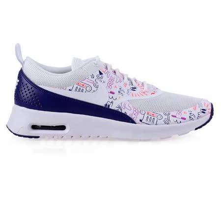 (女) NIKE WMNS AIR MAX THEA PRINT 運動休閒鞋 白紫