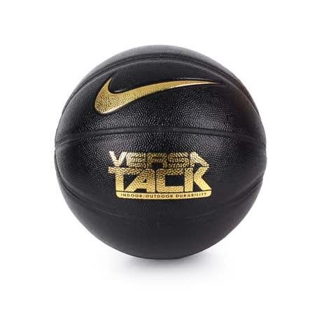 NIKE 炫彩籃球 VERSA TACK-七號球 室內外 黑金 F