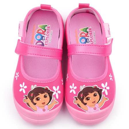 童鞋城堡-朵拉 中童 幼稚園室內鞋DR87011-桃