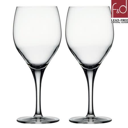 土耳其Pasabahce無鉛水晶波爾多紅酒杯320cc-二入組