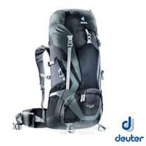 【德國 Deuter 】ACT Lite 50 + 10 輕量拔熱式透氣背包/登山健行背包.自助旅行背包/Aircontact 輕量行拔熱透氣系統 _ 3340315 黑/灰