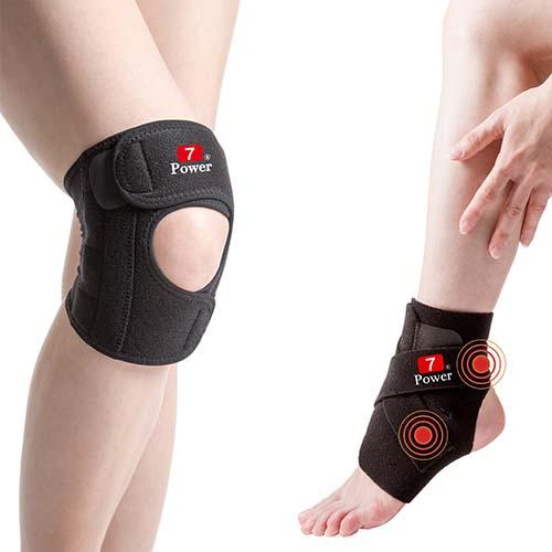 7Powe板橋 大 遠 百 百貨r醫療級專業護膝*2+護踝*2特惠組