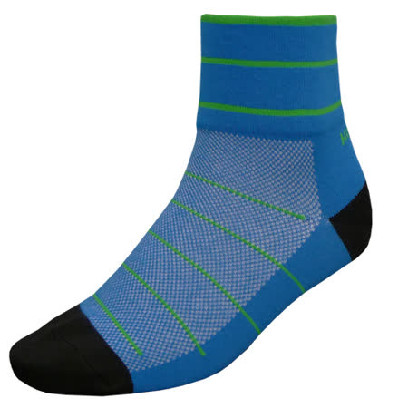 【hilltop山頂鳥】吸濕排汗抑菌多功能寬口短襪H47XE0-寶藍/草綠