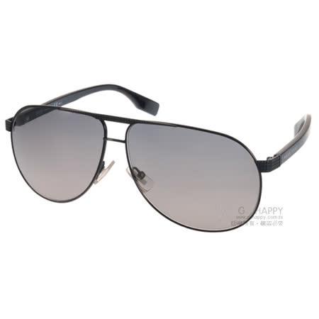 HUGO BOSS 太陽眼鏡 男士時尚大框飛行款 (黑) #HB0449FS F9DEU
