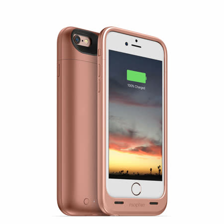 【Mophie】 Juice Pack Air行動電源 for iPhone 6 (玫瑰金)