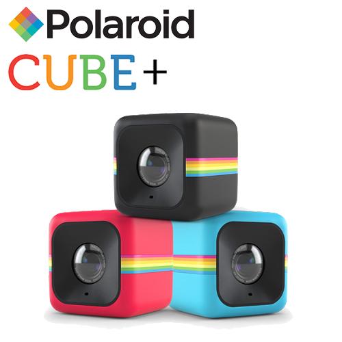 Polaroid 寶麗萊 CUBE Plus (CUBE+) 迷你行動WIFI攝影機(公司貨)-加送Fiexi-Pod Cube+海星架