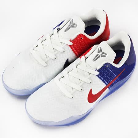 NIKE  童  KOBE XI BG    籃球鞋  白/藍  822945184