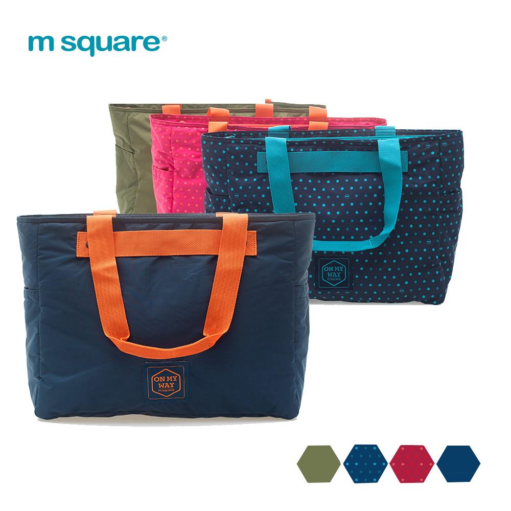 M Square單肩超輕巧托特包