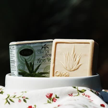 【Olivos 奧莉芙的橄欖】保溼蘆薈橄欖皂126g