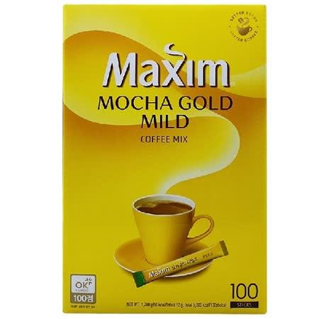 【韓國 Maxim】摩卡三合一咖啡隨身包(12g*100入/盒)