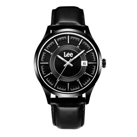 Lee  瞄準定位時尚腕錶-LEF-M11DBL1-1S