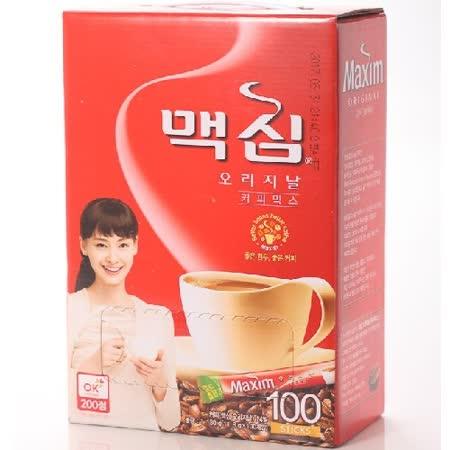 【韓國 Maxim】原味咖啡隨身包(11.8g*100入/盒)