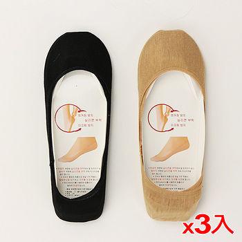 ★3件超值組★CO韓式細邊棉襪套-膚(22~26cm)
