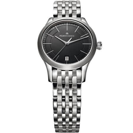 Maurice Lacroix 艾美錶簡約 典雅系列 簡約都會女用腕錶-黑/33mm/LC1026-SS002-330