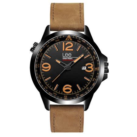 Lee  時空密碼時尚腕錶-LES-M45DBL5-19