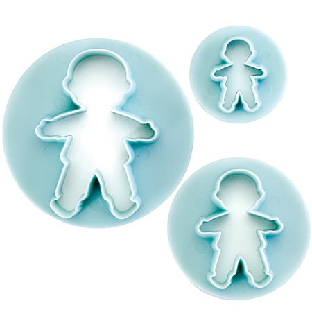 《IBILI》Sweet大小餅乾模3件(男孩)
