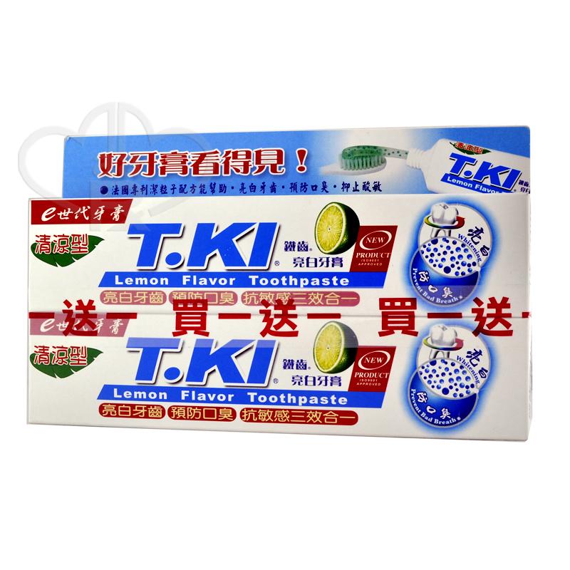 買1送1~T.KI~鐵齒亮白牙膏^(130g^)