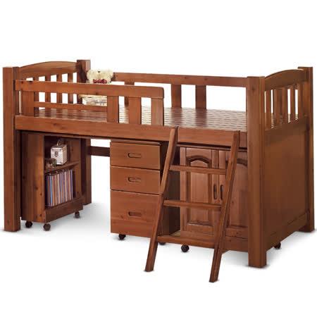 MY傢俬 機能收納書桌多功能3.6尺單層床