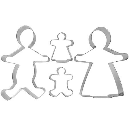 《IBILI》餅乾模4件(家庭)