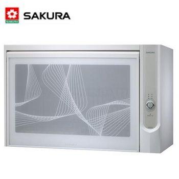 櫻花 Q-600C懸掛式殺菌烘碗機 烤漆白