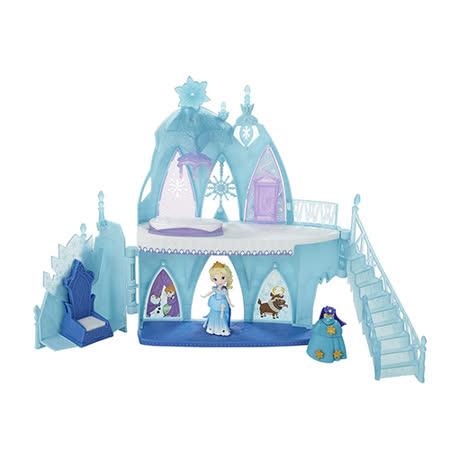 《Disney 迪士尼》冰雪奇緣-艾莎公主城堡遊戲組
